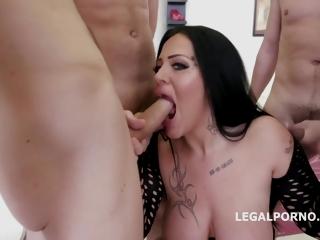 Ashley Cumstar - Dap Destination Ashley Cum 5on1 Dp /dap /deep Throat Dominate Prex Slut Bj Queen Gets Banged Gio271
