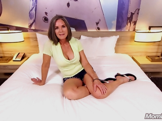 59 Years Old Country Cougar Livia Anal