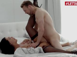 LETSDOEIT - Zuzu Sweet - Big Ass Czech Brunette Pumped By Horny BF