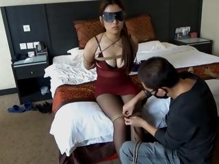 捆绑 绳艺 36d大胸 Bondage
