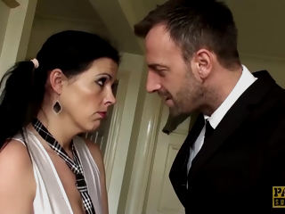 Eaten up Uk Sub Receives Cum In Mouth - Pascal White