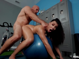 Stripped Dude Fucks Brunette Pussy Coupled On every side Ass Superior to before Exercise Sashay On every side J Mac Coupled On every side Valentina Jewels