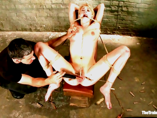 Bdsm Slave Traini With Allie James