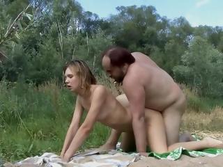 Russian Slut Yon Fmm Outdoor Triplet