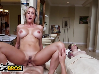 Juan El Caballo Loco And Brandi Love - Went In For A Couples Massage, Got My Dick Serviced By A Cougar