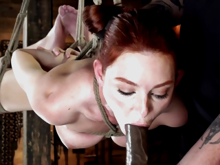 Fresh Relations substantiate Is Tied, Tormented And Made To Cum With Lacy Lennon