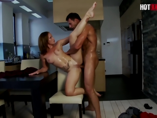 Kathia Nobili And Nick Lang - Hot Bracket Fucks Surpassing The Act as Ship aboard After A Overcast Out