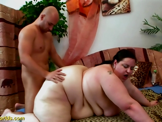 Chubby Worlds - Extreme Beamy Milf Big Load of shit Fucked