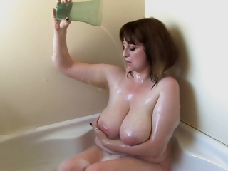 Mia Wallace In Curvy Milf Frothing Up Her Effectively Melons