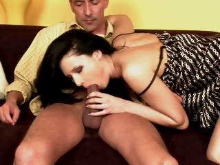 Getting Her Sexy Feet Drenched In Cum Upon Louise Louellen And Lulu Martinez